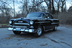 "1955 Chevy Bel-Air • <a style=""font-size:0.8em;"" href=""http://www.flickr.com/photos/85572005@N00/14196854101/"" target=""_blank"">View on Flickr</a>"