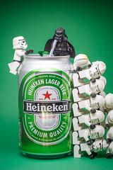 Just Heineken (Yangchih) Tags: heineken toy starwars lego stormtrooper darthvader stom clonetrooper