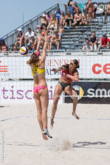 2014 CEV Beach Volleyball European Championship (P a z u) Tags: girls woman beach girl championship europe european volleyball volley cagliari 2014 poetto cev campionato europeo femminile cev2014