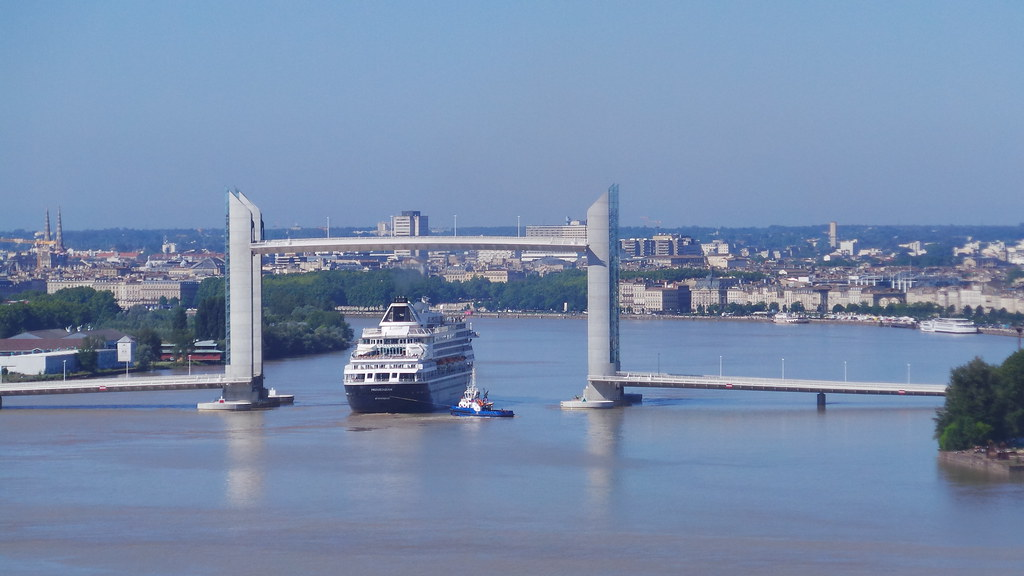 Arrivée du MS PRINSENDAM - Bordeaux - 18 mai 2014