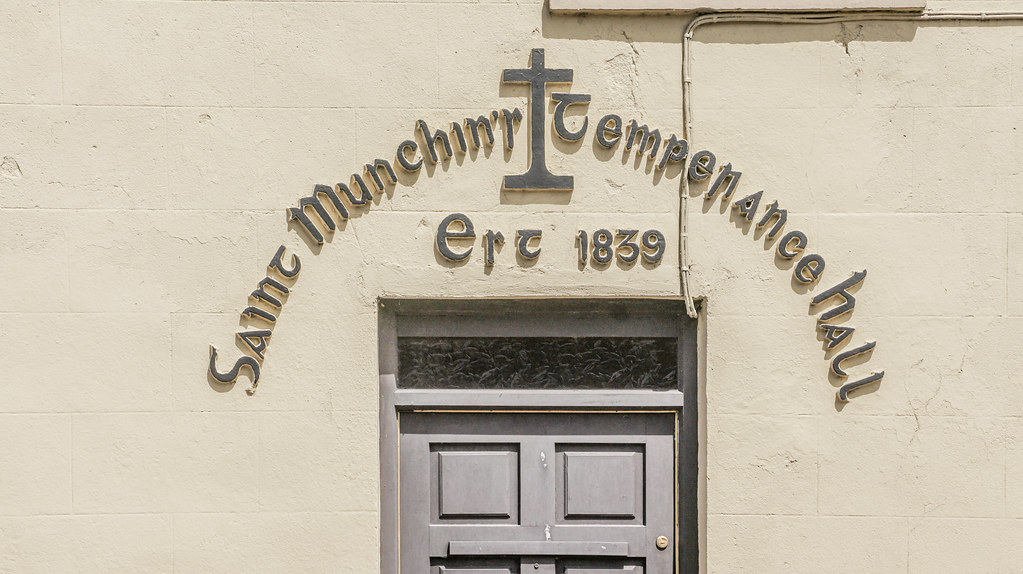 SAINT MUNCHIN'S TEMPERANCE HALL IN LIMERICK