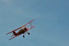 STAMPE-SV4C (Arndted) Tags: stampesv4c stampeetvertongensv4 stampe vertongen sv4c sweden sverige nikon d90 motion speed flight aircraft airplane flygplan sebem biplane
