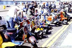 Mod Revival Scooter Run to Brighton, 1979 (roger.w800) Tags: sussex seaside brighton vespa lambretta scooters mods li150 tv175 sx200 modrevival gs160 modsandrockers gp200 tv200 gs180 britishfashion