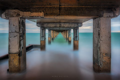 Vanishing Point (Mark McLeod 80) Tags: pier australia victoria morningtonpeninsula dromana 2014 markmcleod dromanapier lee09nd