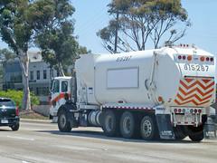 Garbage Truck (Photo Nut 2011) Tags: california trash garbage junk sandiego freeway waste refuse sanitation garbagetruck trashtruck wastedisposal 163freeway 815287