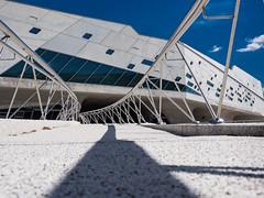 Wolfsburg - Phaeno (1) (Teelicht) Tags: museum architecture germany deutschland architektur wolfsburg sciencemuseum zahahadid niedersachsen lowersaxony phaeno wissenschaftsmuseum olympusomdem5 olympusm1250mmf3563