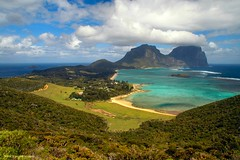 View From Kim's Lookout to Old Settlement Track Over Old Settlement Beach, Lord Howe Island Village Centre, Lagoon Beach and Intermediate Hill, Mt Lidgbird & Mt Gower, NSW (Black Diamond Images) Tags: lagoon lookout panorama rainforest views blackburnisland kimslookout oldsettlement oldsettlementbeach lordhoweislandvillagecentre lagoonbeach intermediatehill mtlidgbird mtgower nsw australia thelastparadise worldheritagearea australianislands paradise coralreef transithill muttonbirdisland malabarhill lordhoweisland hunterbay picmonkey mostbeautifullandscape shorescape seascape landscape beautifullandscapes beautifullandscape sceniclandscapes sc