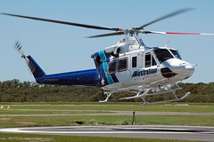 VH-LSY Agusta-Bell AB412SP Australian Helicopters (Robert Frola Aviation Photographer) Tags: nikond70 helicopters 2007 bell412 agustabell yred australianhelicopters vhlsy