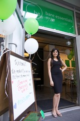 Bare Essentials Skin Bar's 1st Birthday Happy Hour Soiree - Jun 25 2014 (r_van_bc) Tags: canada vancouver downtown bc amy dermalogica sahota