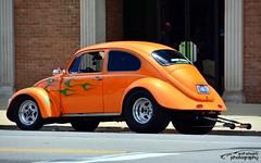 VW Bug (scott597) Tags: show street ohio orange london vw race bug drag cobra flames pro nos 2014 nitrious