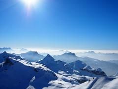 The swiss alps!