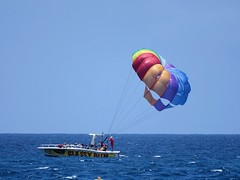 Parasailing Boat Classy Rum Alden Cornell Molokai Hawaii (Alden.Cornell.Molokai.Hawaii) Tags: ocean family vacation usa sun holiday water beauty sunshine america hawaii daylight warm day view unitedstates noon molokai sighteeing aldencornellmolokai aldencornellhawaii