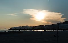 Dusk (PabloTheDonkey) Tags: santa sunset beach clouds spain majorca ponsa