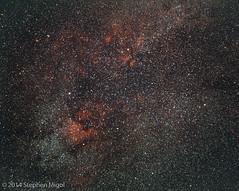 Sadr region on E200 (S Migol) Tags: 120 film mediumformat pentax kodak slide astrophotography astronomy ektachrome e200 astrophoto pentax6x7 pentax67 smigol stephenmigol goldenstatestarparty smcpentax67200mmf4 copyright2014 gssp2014