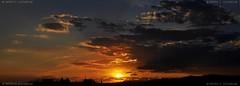 Sabadell, 08 juliol 2014, 21:10 (Perikolo) Tags: sunset sol clouds atardecer nubes puesta posta nvols sabadell capvespre