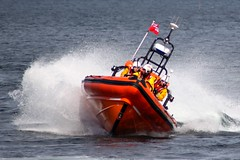 IMG_4775 (smiscandlon) Tags: show rescue colour water speed boat display air royal spray institute airshow international lifeboat national sunderland rnli 2014