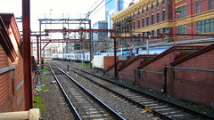 : Flinders Street Station, Melbourne (aciamax) Tags: trolley tram australia melbourne victoria streetcar trams tramway strassenbahn tranvia tramcar melbournecity tramyia