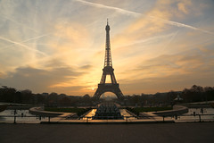 Eiffel Tower Sunrise | Paris, France