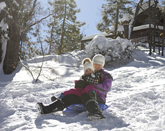 Big Bear Jan 2017 (TeamNovak) Tags: bigbear californnia snow winter sledding fun family
