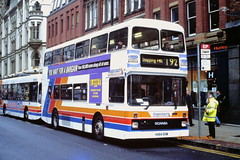 Stagecoach Manchester 1464 (H464 GVM) (SelmerOrSelnec) Tags: stagecoachmanchester scania n113 northerncounties h464gvm manchester piccadilly 192 gmbuses bus