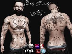 Hip Tattoo (LuShesBlessed) Tags: dirtysecrets lushesblessed secondlife catwa omega slink adams signature