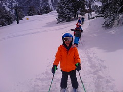 YEAHHH (Club Pyrene) Tags: masella molina esquiada classes clase muntanya club esquí pyrene