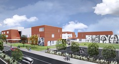 Exterior Rendering (rear) (Seattle Public Schools) Tags: rems