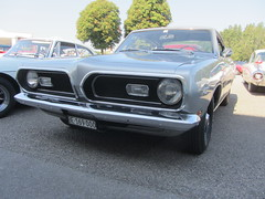 Plymouth Barracuda, 1969 (v8dub) Tags: plymouth barracuda 1969 schweiz suisse switzerland bleienbach american muscle mopar pkw pony voiture car wagen worldcars auto automobile automotive old oldtimer oldcar klassik classic collector