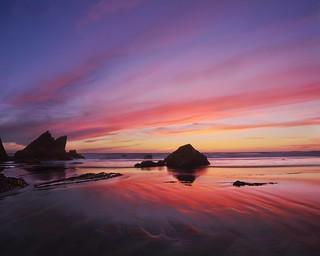 In a Coastal Color Mood