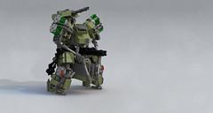 Hermit Drone (Garry_rocks) Tags: lego mecha hardsuit drone