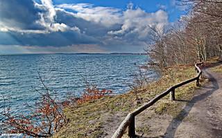 Aussicht auf dem Greifswalder Bodden