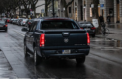 Bosnia - Cadillac Escalade EXT (PrincepsLS) Tags: bosnia herzegovina bosnian license plate germany berlin spotting cadillac escalade ext