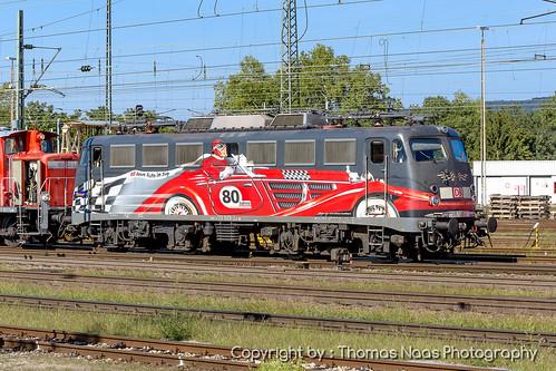 115 509-2 : 80 Jahre Auto im Zug