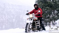 Amit Khas (touragrapher) Tags: 70200 bullet canon70200 canon70d classic500 dharali harshil himalayas offroader royalenfield sigma30mm snow snowstorm2017 snowstorm uttarkhashi uttrakhand uttrakhandtourism whereeaglesdare remotestcorners tourer