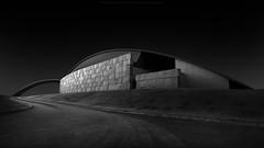 a r c h e s (*Jin Mikami*) Tags: bw light architecture japan shadow black white monochrome dark surreal darkness bnw shade minimalism photoshopped pentax blackandwhite