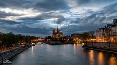 River Seine and Notre-Dame (brenac photography) Tags: brenac brenacphotography d810 dusk france nikon nikond810 notredame river seine sky sunset wow paris îledefrance fr