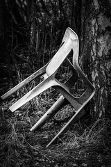 Chair (mellting) Tags: eskilstuna nikond500 platser sigma1506005063sport vilsta bloggad flickr instagram matsellting mellting nikon sverige sweden chiar monochrome stol bnw blackandwhite