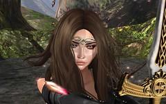 A Prayer To Athena (close-up) (DaniGraphix Resident) Tags: hausofgraphelle secondlife sl avatar fantasy wonderwoman amazon amazonian diana prince dc comics
