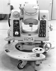Atlas Collection Image (San Diego Air & Space Museum Archives) Tags: optical alignment casters testequipment 1960