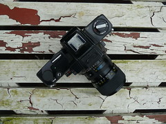Klacken (QQ Vespa) Tags: analog kamera camera ricoh tls 401 exakta schwarz black vintage classic fotoapparat macro