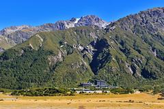 Aoraki Mount Cook National Park visitor center (T Ξ Ξ J Ξ) Tags: newzealand aoraki mountcook d750 nikkor teeje nikon2470mmf28 visitor mountain cook day