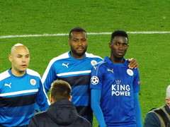 Leicester Players after the match (lcfcian1) Tags: leicester city atletico madrid lcfc atleti uefa champions league football sport uk england kingpowerstadium king power stadium leicestercity atleticomadrid leicestercitystadium uefachampionsleague championsleague footballmatch yohanbenalouane wesmorgan wilfredndidi 11 18417 quarter final