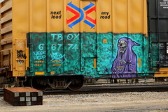 NATAS, Adams, Neenah, 23 Mar 17 (kkaf) Tags: neenah adams graffiti natas