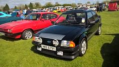Ford Escort mk3 RS1600i (xr282) Tags: ripon racecourse classic car show ford escort mk3 rs1600i