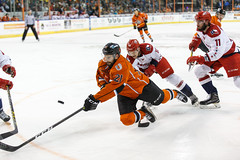 "Missouri Mavericks vs. Allen American, March 22, 2017, Silverstein Eye Centers Arena, Independence, Missouri.  Photo: © John Howe / Howe Creative Photography, all rights reserved 2017 • <a style=""font-size:0.8em;"" href=""http://www.flickr.com/photos/134016632@N02/33477079491/"" target=""_blank"">View on Flickr</a>"