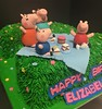"pepa pig / Shaped number cake • <a style=""font-size:0.8em;"" href=""http://www.flickr.com/photos/40146061@N06/33512613916/"" target=""_blank"">View on Flickr</a>"