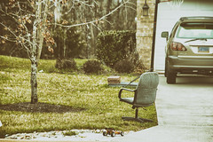 office chair in front yard 84/365 (amanda_fernandes) Tags: unexpected 365the2017edition 3652017 day84365 25mar17 celebratingthemundane scavenger15 ansh78