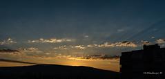 Sunrise in Montana (Milen Mladenov) Tags: 2017 bulgaria montana pustrina sunrise balcony city clouds goldenhour hill light morning mountain sun trail view wakeup