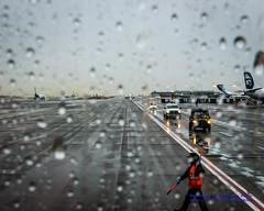 Looking Out the Window at Busy #KSEA Day (AvgeekJoe) Tags: d5300 dslr internationalairport ksea nikon nikond5300 seatac seatacinternational seatacinternationalairport seattle seattletacomainternational seattletacomainternationalairport washington washingtonstate airport rain