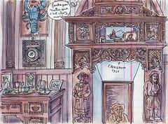 intérieur ouessantin (lapin barcelona) Tags: sketchbook illustration croquis bzh urbansketchers
